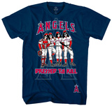 MLB: Kiss- Anaheim Angels Dressed To Kill T-shirts