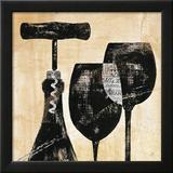 Wine Selection II Posters af Daphne Brissonnet