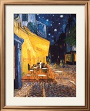The Café Terrace on the Place du Forum, Arles, at Night, ca. 1888 Posters af Vincent van Gogh