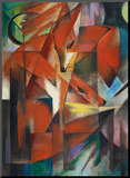 The Fox, c.1913 Mounted Print by Franz Marc