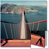 Vogue - February 1957 - Golden Gate Bridge Wall Art by Serge Balkin