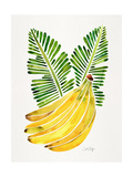 Green Bananas Giclee Print by Cat Coquillette