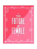 Future Female Giclee Print by Cat Coquillette