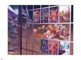 Prowler 1 Panel Featuring Hobie Brown, Spider-Man, Sandman, Silver Sable, Puma, Rocket Racer, etc. Prints by Jamal Campbell
