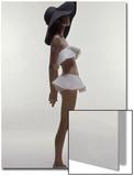 Vogue - June 1969 - Model Wearing Givenchy Swimwear Wall Art by Bert Stern