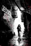Jessica Jones 1 Variant Cover Art Featuring Jessica Jones Alu-Dibond von David Aja