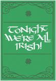 Tonight, We're All Irish! Posters