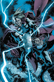 The Unworthy Thor 1 Variant Cover Art Featuring Thor Poster by Bryan Hitch