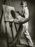 Vanity Fair - October 1931 Metal Print by Rolf Mahrenhole