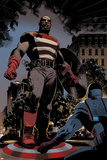 Captain America: Sam Wilson 12 Panel Featuring U.S. Agent Prints by Daniel Acuna