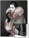 Vogue - October 1954 Art Print by Erwin Blumenfeld