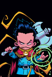 Doctor Strange Annual 1 Panel Featuring Dr. Strange Prints by Skottie Young
