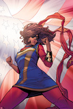 Ms. Marvel 13, Flag Cover Art Posters