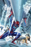 The Amazing Spider-Man 16 Cover Art Affischer av Alex Ross