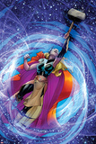 All-New, All-Different Avengers 15 Panel Featuring Thor (Female) Posters by Adam Kubert