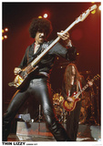 Thin Lizzy- Live London 1977 Plakater