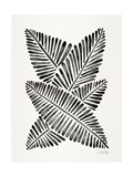 Black Banana Leaves Giclee Print by Cat Coquillette