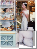 Vogue - March 1999 - At the Patisserie Art Print by Arthur Elgort