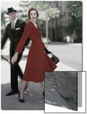 Vogue - October 1957 Wall Art by Karen Radkai