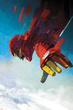 International Iron Man 7 Cover Art Featuring Iron Man, Tony Stark Plakat af Alex Maleev