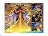 All-New, All-Different Avengers 15 Panel Featuring Heimdall, Thor (Female) Photo by Adam Kubert