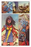 Ms. Marvel 11 Cover Art Featuring Ms. Marvel (Kamala Khan) Poster by Takeshi Miyazawa