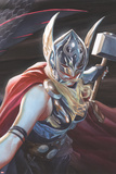 All-New, All-Different Avengers 15 Cover Art Featuring Thor (Female) Posters by Alex Ross