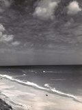 Vogue - November 1948 - Seaside View Metal Print by Serge Balkin