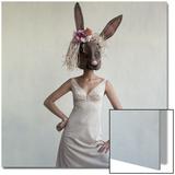 Vogue - February 1965 - Bunny Mask Wall Art by Gianni Penati