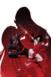 All-New, All-Different Avengers 14 Featuring Daredevil, Elektra Prints by Paul Renaud