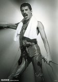 Queen- Freddie Mercury Live On Stage Print