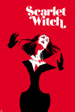 Scarlet Witch 12, Scarlet Witch (Text) Cover Art Print