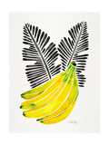 Black Bananas Giclee Print by Cat Coquillette