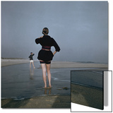 Vogue - December 1946 - Wading at Low Tide Wall Art by Serge Balkin