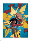 Ms. Marvel 11 Panel Featuring Ms. Marvel (Kamala Khan) Print by Cameron Stewart