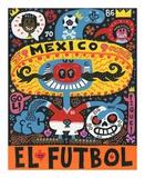 La Mascota del Mundial Posters par Jorge R. Gutierrez