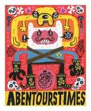 Las Aventuras de Pen Plakat av Jorge R. Gutierrez