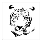 Tiger Art by  GraphINC