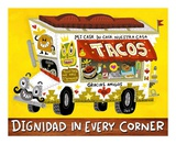 Taco Truck Posters by Jorge R. Gutierrez
