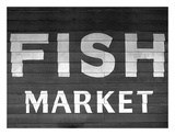 Fish Market Poster by  PhotoINC Studio
