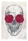 Skull & Roses Prints by Rachel Caldwell