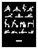 Workout Kunstdrucke von  GraphINC