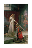 The Accolade Premium Giclee Print by Edmund Blair Leighton