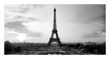 The Eiffel Tower Print by  PhotoINC Studio