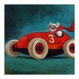 Speed Racer Print by Lucia Heffernan