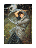 Boreas, 1903 Premium Giclee Print by John William Waterhouse