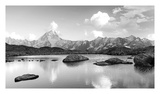 Mountain lake Prints by  PhotoINC Studio