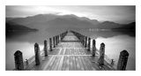 Lake Pier Prints by  PhotoINC Studio
