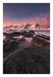 Flakstad Fjord Posters by Hans Logren