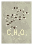 Molecule Milk Poster by  TypeLike
